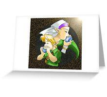 Goddess of Time Greeting Card
