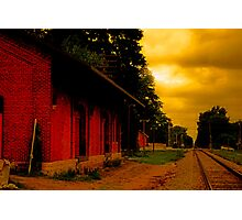 Trains Late Photographic Print