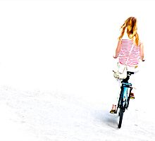 Cycling in a white ocean by zarkhoc