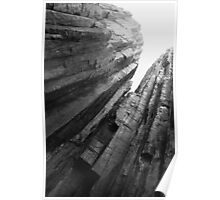 Dolerite columns, Cape Huay, Tasman Peninsula, Tasmania Poster