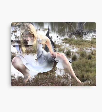 look before leaping Canvas Print