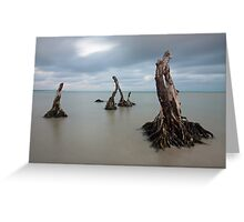 deep rooted Greeting Card