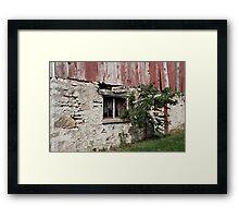 Past Repair Framed Print