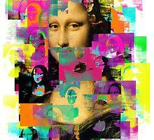 Mona Lisa Pop Art by pamramos