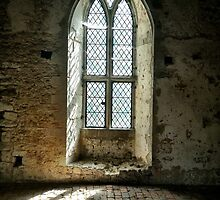 Old Soar Manor Chapel Window by Ludwig Wagner