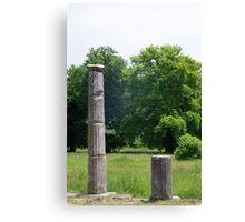 Ancient Columns Canvas Print