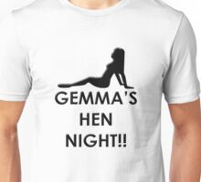 Hen Night (Customisable) Unisex T-Shirt