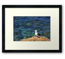 On A Clear Day... Framed Print