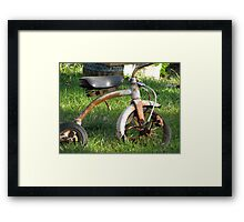 Rusted Childhood Framed Print