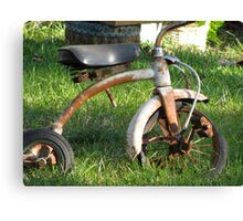 Rusted Childhood Canvas Print