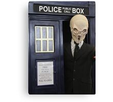 The Silence have the Phone Box Canvas Print