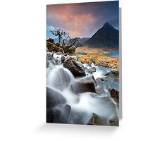 Tree and Tryfan Greeting Card