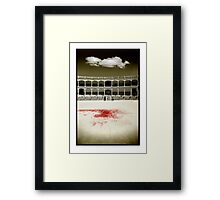 A Tradition of Tragedy Framed Print