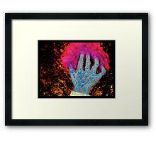 The Hand Framed Print