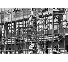 Building Site Photographic Print