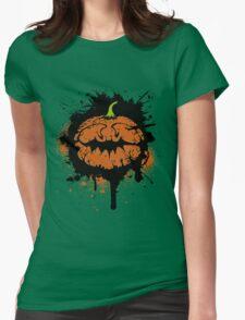 Happy Pumpk(ee)n ! Womens Fitted T-Shirt