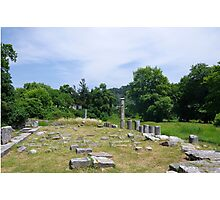 Ancient Ruins Photographic Print