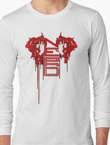 Zinger Nerd - Hue: Red Long Sleeve T-Shirt