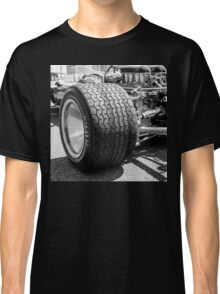 Vintage racing car tire Classic T-Shirt