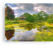 Lakeside Park Lagoon Canvas Print
