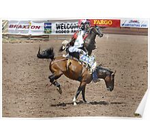 Bareback 1 Pikes Peak or Bust rodeo Poster
