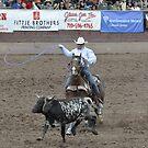 Steer Roping Pikes Peak or Bust Rodeo by hedgie6