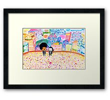Pulp Fiction - Nice Day Framed Print