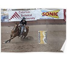 Barrel Racing 1 Pikes Peak or Bust Rodeo Poster