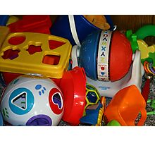 toy bunch Photographic Print
