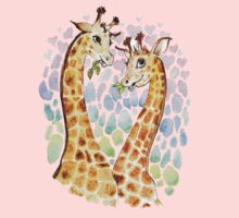 Giraffes love Kids Tee