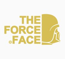 The Force Face (yellow) Kids Clothes