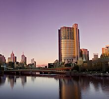 A Melbourne Sunset by Matt Jones