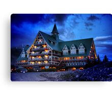 Prince of Wales Hotel, Alberta Canvas Print