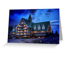 Prince of Wales Hotel, Alberta Greeting Card