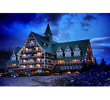 Prince of Wales Hotel, Alberta Photographic Print