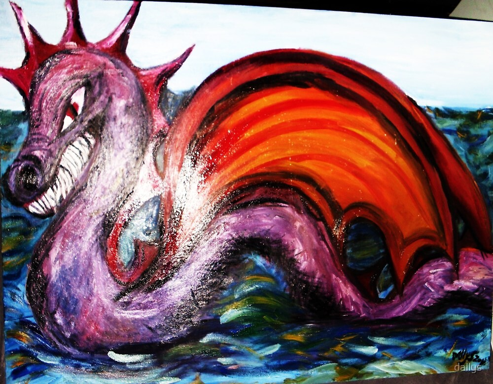 SEA HORSE DRAGON GAUCON by dallys