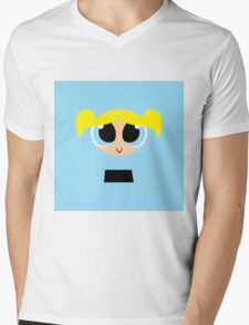 Bubbles - PowerPuff Girls Mens V-Neck T-Shirt