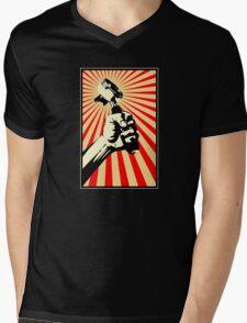 Coffee Revolution! Mens V-Neck T-Shirt
