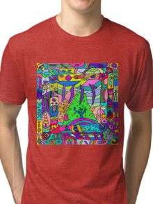 Abstract 14 Tri-blend T-Shirt