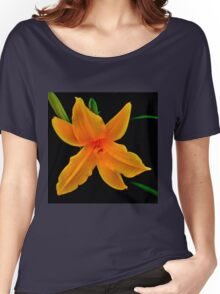 Vibrant- A Beautiful Floral Print Women's Relaxed Fit T-Shirt