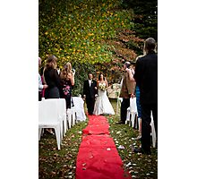 Walking the Red Carpet Photographic Print