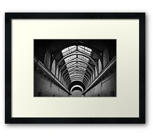 Cellblock Framed Print