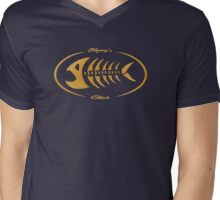 Mooney's club Mens V-Neck T-Shirt
