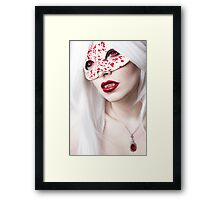 Drops of Blood Framed Print