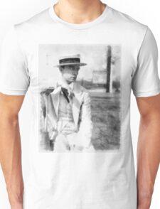 Buster Keaton by John Springfield Unisex T-Shirt