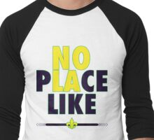 No Place Like NOLA Men's Baseball ¾ T-Shirt