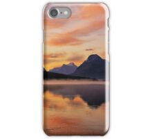 Sunrise at Bow Lake, Banff NP iPhone Case/Skin