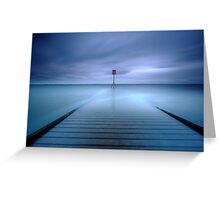 Beacon Blue Greeting Card