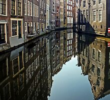 Amsterdam Canal by Ludwig Wagner