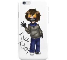 Chibi Ticci Toby  iPhone Case/Skin